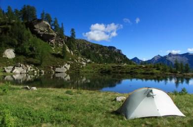 Ticino campsite