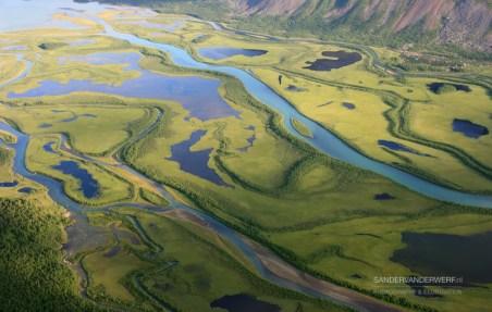 Arctic delta near Sarek.