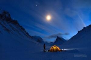 Night sky in Lapland