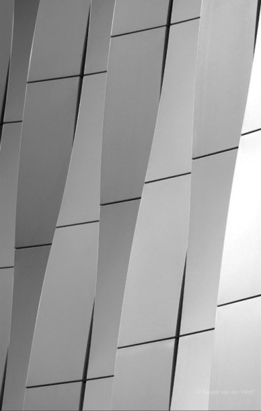 Abstract shapes of the UMCG lab.