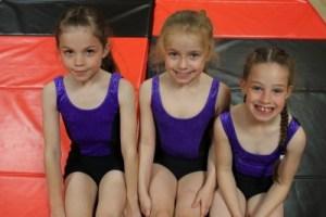 Gymnastic Dance Pupils from Sandham's Dance Bolton