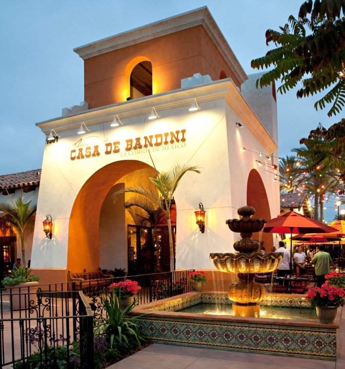 Casa de Bandini Mexican Restaurant in South Carlsbad is a