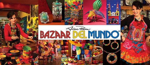 Bazaar Del Mundos Shops Offer a Unique Shopping
