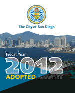 Fiscal Year 2012 Adopted Budget  City of San Diego