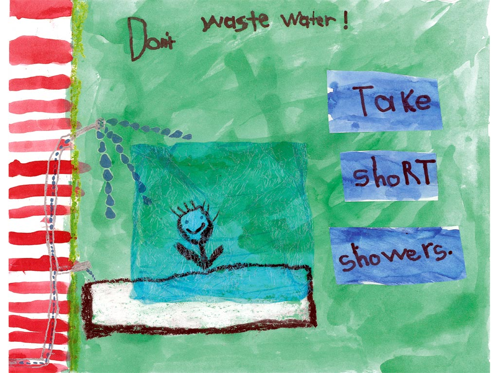 Water Conservation Poster Contest Wallpaper  City of San