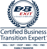 Small Certified Business Transition Expert Logo