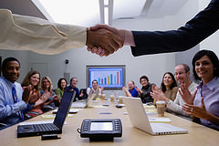 People At A Successful Business Meeting
