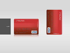 Visa Debit Cards Next To Each Other