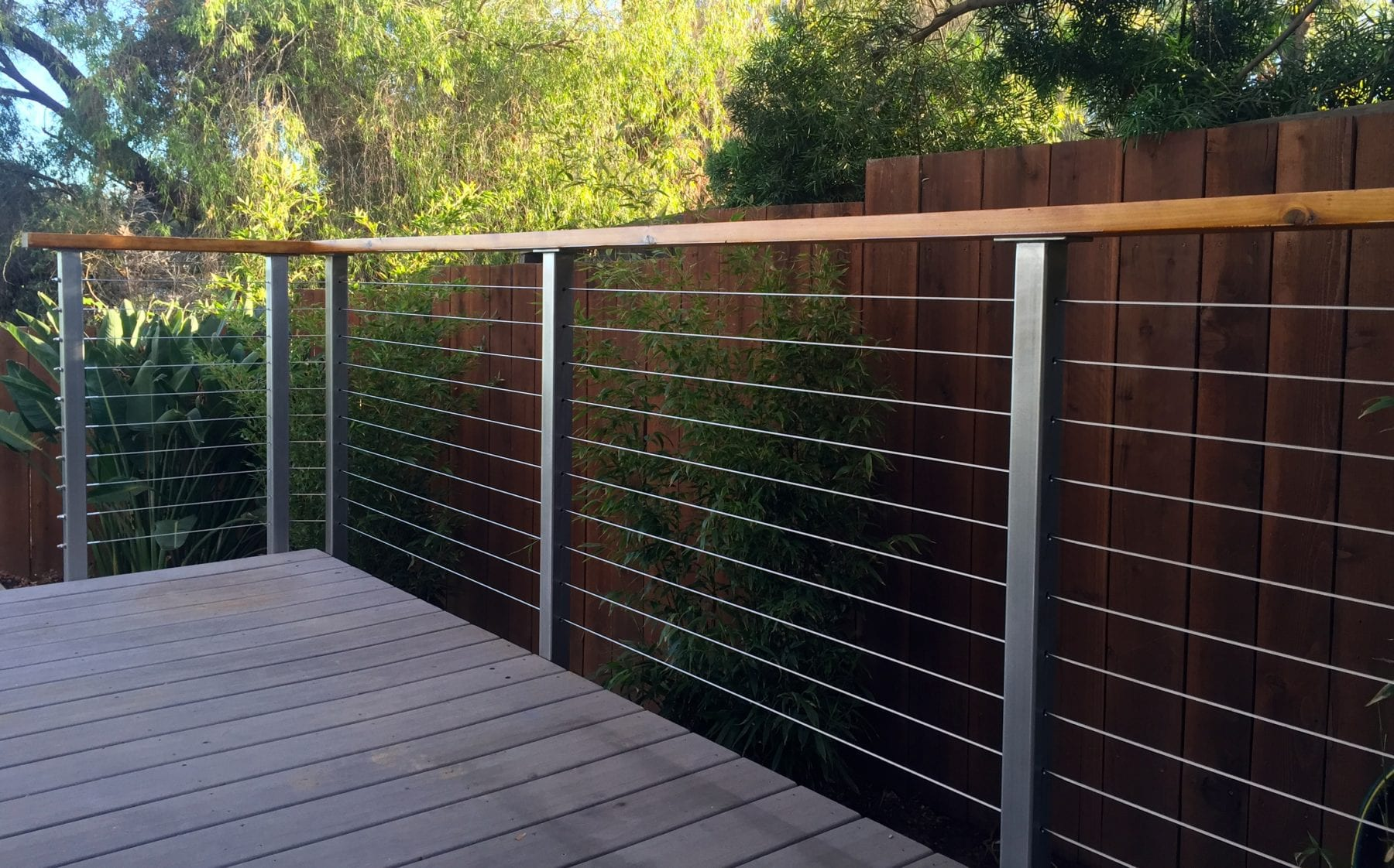 Stainless Steel Deck Railing Posts