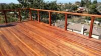 Redwood Deck with Cable Rail 5 - San Diego Decks | Custom ...