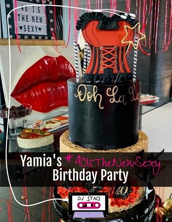 Brilliant Yamias 40Isthenewsexy Birthday Party San Diego Dj Staci Birthday Cards Printable Inklcafe Filternl