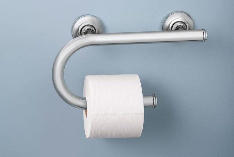 Toilet Paper Grab Bar
