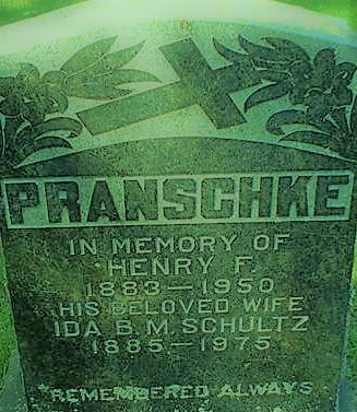 Pranschke grave