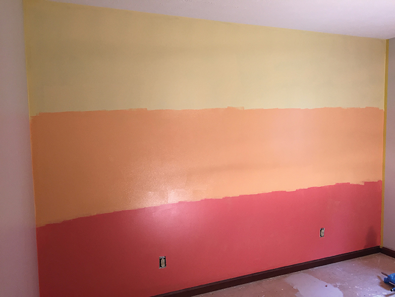 How To Paint An Ombre Wall San Diego Home Garden Lifestyles