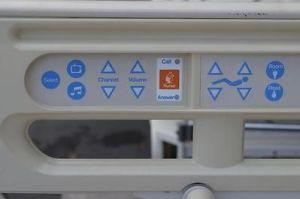 1 Advanta P1600 hospital bed rail