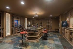 Wine lover cellar