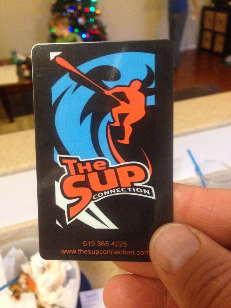 SUP Gift Card | The SUP Connection San Diego Point Loma