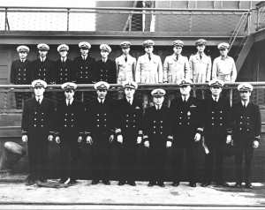 """Captains and officers of San Diego's """"Yippie"""" boats."""