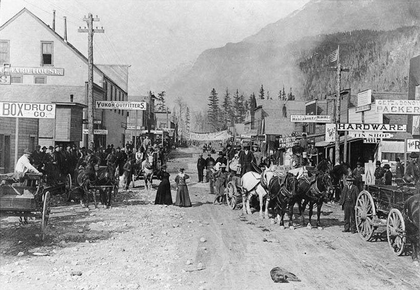 Historical Tour Guide - Klondike Gold Rush