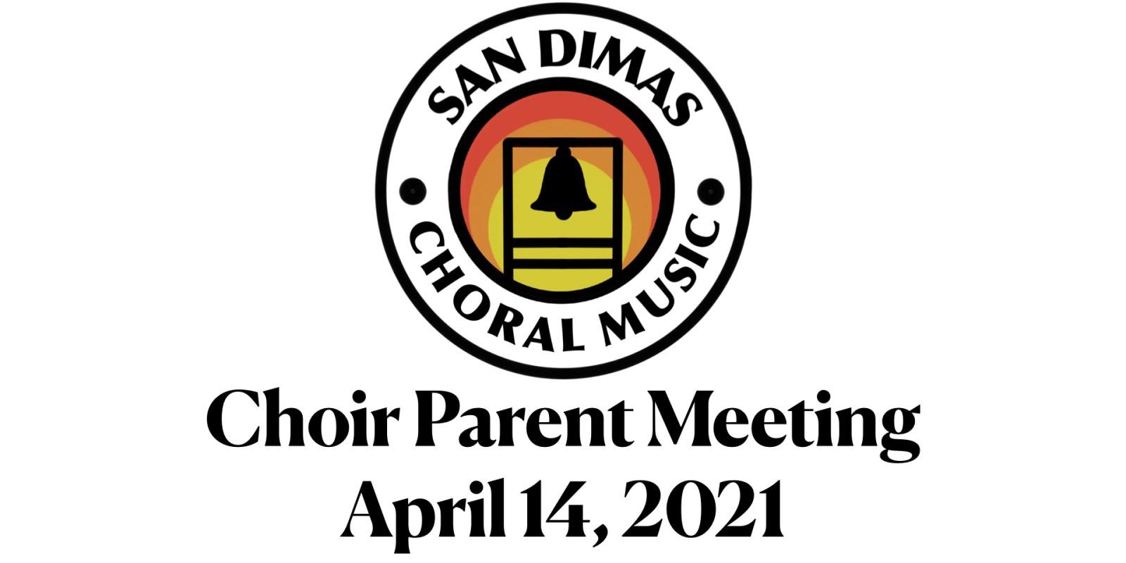 Parent Meeting April 14th, 2021