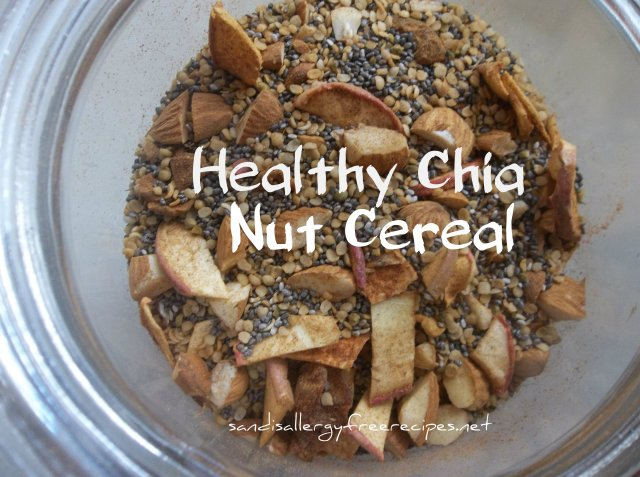 Healthy Chia Nut Cereal