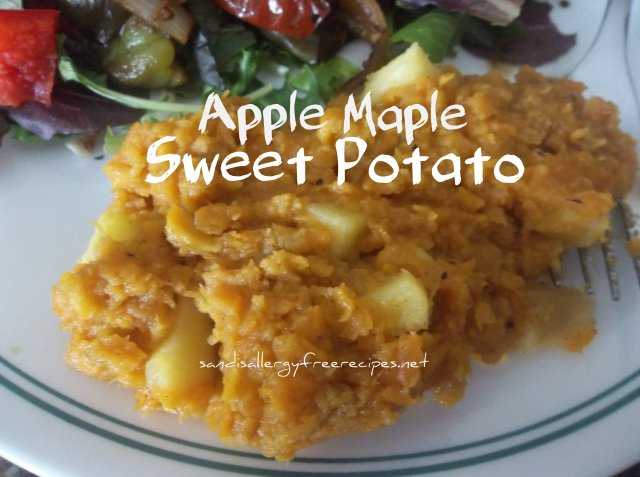 Apple Maple Sweet Potatoes