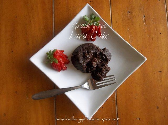 Grain Free Lava Cake