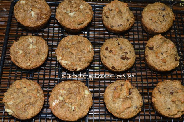 Healthy-Egg Free Banana Muffins