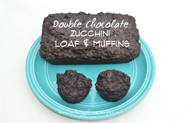 Double Chocolate Zucchini Loaf & Muffins