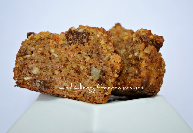 Paleo Morning-Glory Muffins