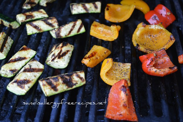 Paleo Grilled Veggies