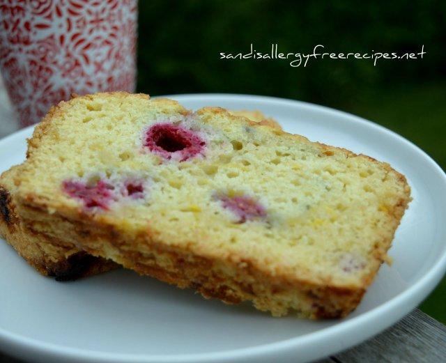 Raspberry Zucchini Loaf