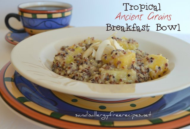 Tropical Ancient Grains Breakfast Bowl