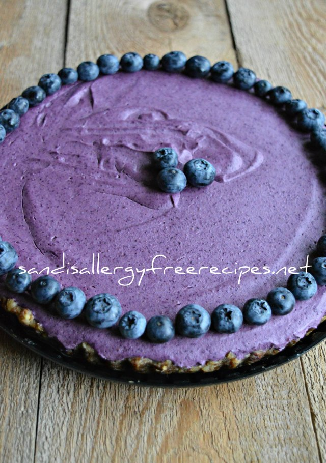 "Blueberry ""Cheese"" Cake"