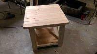 Rustic end table - Rustic end tables - Farm House End ...
