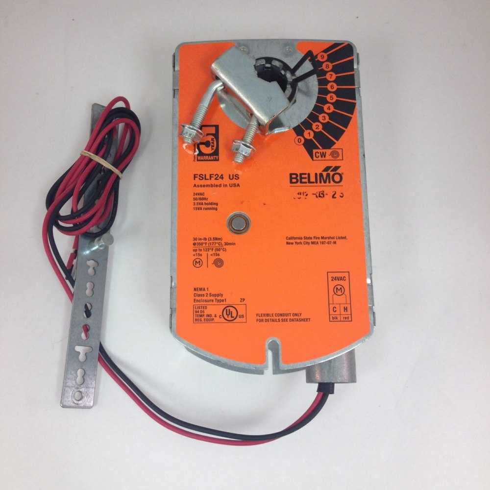 medium resolution of belimo damper actuator fslf24 us nos