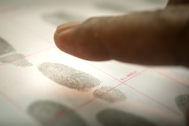 Finger Printing - Bismarck Criminal Defense Attorneys - Sand Law PLLC - North Dakota Criminal Defense Attorneys