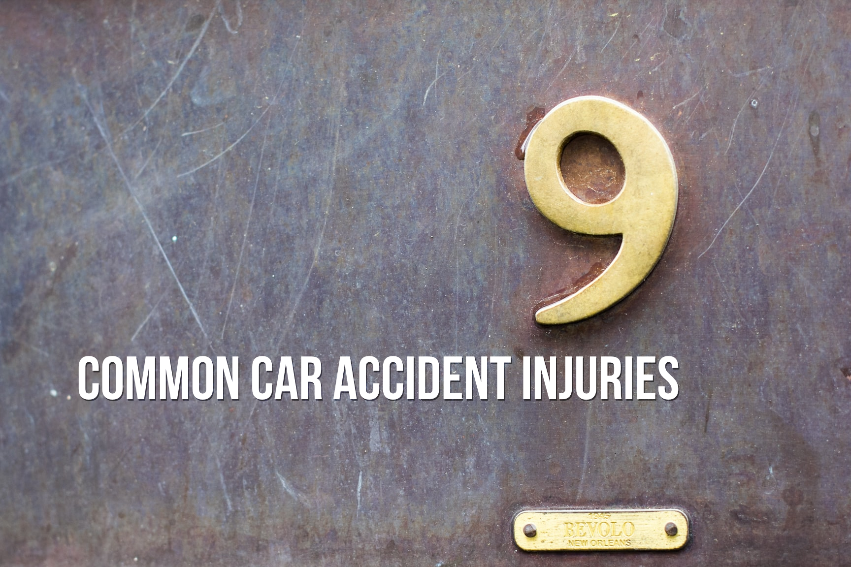 9 Common Car Accident Injuries - Sand Law North Dakota