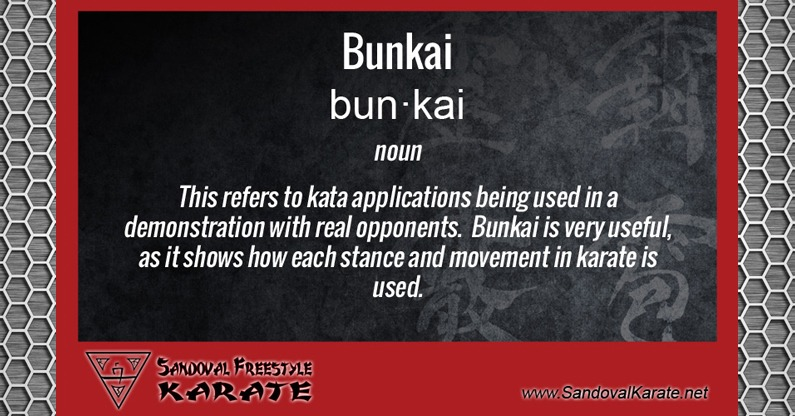 Bunkai Definition
