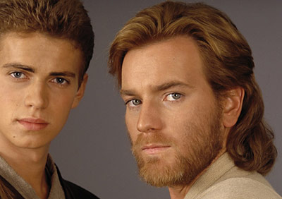 Ewan Mcgregor as Obi-Wan Kenobi in Star Wars Episode II (2002)