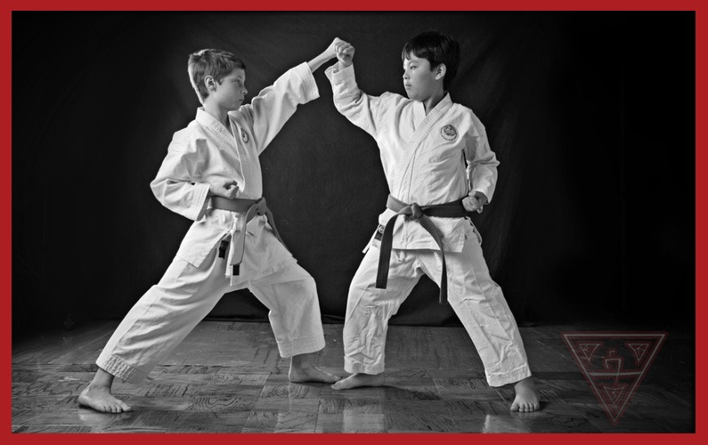 Karate Upper Block Demonstration