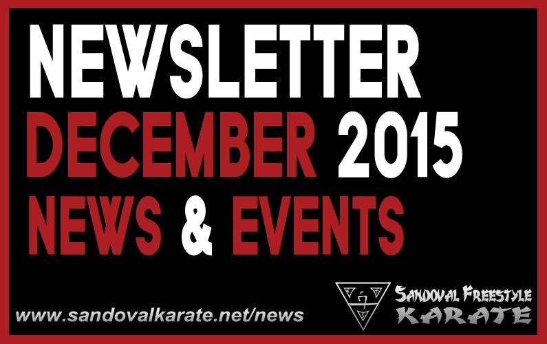 December 2015 SFK Newsletter