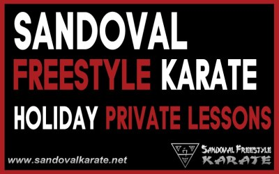 Holiday Private Karate Lesson Discount