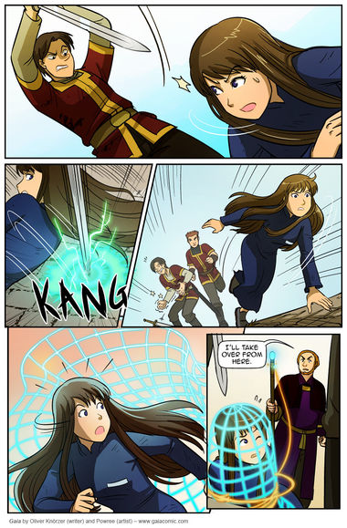 Gaia  2014  February  The fantasy webcomic