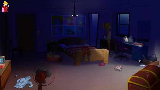 Sandra and Woo  First screenshots from the Sandra and Woo