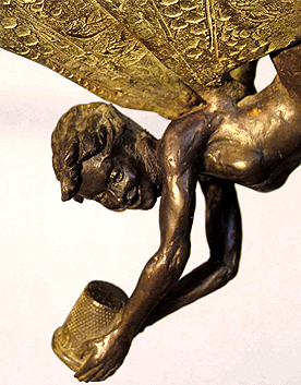 Bronze Tinker Bell by Diarmuid Byron O'Connor [photo: Wikipedia]