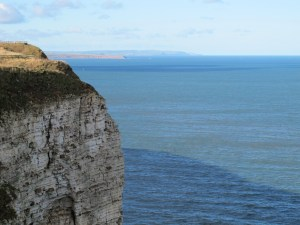 Bempton - view of Brigg1 29-10-13