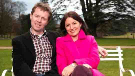 Nicky Campbell and Davina McCall - photo itv com 12-6-14