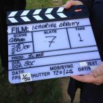 my IG clapper board - the first scene we filmed 18-3-14