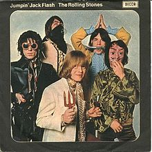 Jumpin' Jack Flash by the Rolling Stones - single